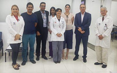 INCART reciba la visita del Jefe de Sección de la División de Cooperación Técnica de América Latina y el Caribe del Organismo Internacional de Energía Atómica (OIEA).