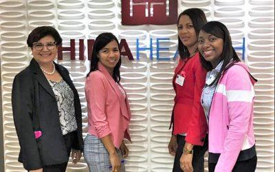 Delegación de enfermeras del INCART participa de capacitación en el Hospital Oncológico HIMA Health, de Puerto Rico