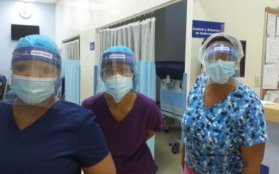Grupo RENATUS dona mascarillas al personal médico del INCART