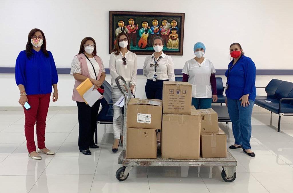 INCART recibe donación para programa CENTINELA