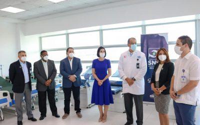 INCART recibe donación de equipos del Servicio Nacional del Salud, SNS